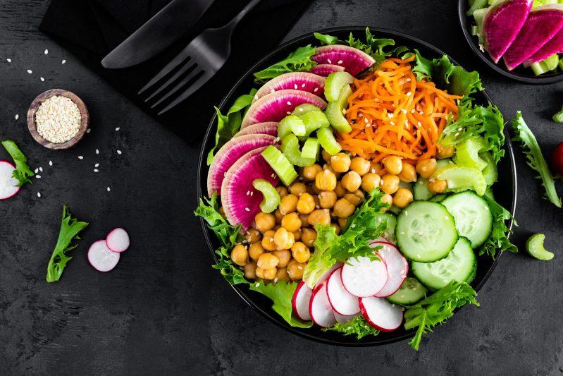 Vegane Ernährung zum Beispiel durch Buddha Bowls